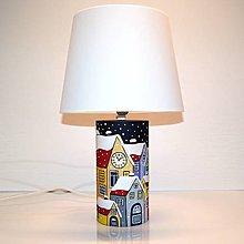 Svietidlá a sviečky - Stolní lampa Tichá noc - 10280675_