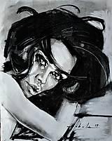 Obrazy - portrety - 10281383_