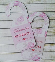 Darčeky pre svadobčanov - Svadobné visačky - 10280475_