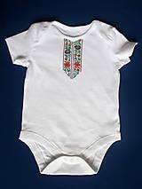 Detské oblečenie - detský ľudový kroj bejby na 6 mesiacov až 3 roky - 10280645_