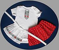 Detské oblečenie - detský ľudový kroj bejby na 6 mesiacov až 3 roky - 10280652_