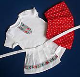 Detské oblečenie - detský ľudový kroj bejby na 6 mesiacov až 3 roky - 10280671_