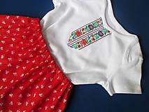 Detské oblečenie - detský ľudový kroj bejby na 6 mesiacov až 3 roky - 10280683_
