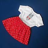 Detské oblečenie - detský ľudový kroj bejby na 6 mesiacov až 3 roky - 10280711_