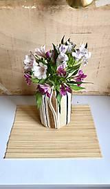 """Dekorácie - """"BIANA"""" obrovská recyklovaná váza - 10281924_"""