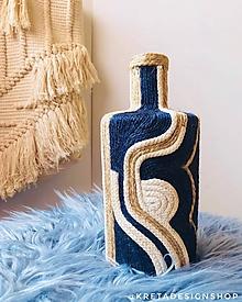 """Dekorácie - """"KERKORA"""" recyklovaná váza - 10281890_"""