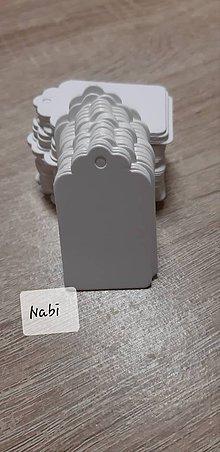 Papier - Štítky, visačky 5x3cm - 10280822_