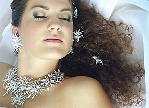 Sady šperkov - Ledová tříšť - 10281721_
