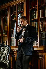 Oblečenie - Pánsky smoking NAPLES - 10282624_