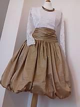 Sukne - Zlatá sukňa - 10281349_