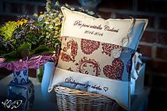 Úžitkový textil - Vankúšik pre pani učiteľku No.16 - 10284018_