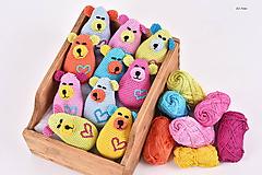 Hračky - BABY macík s pískatkom - 10284632_