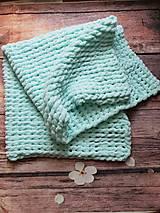 Textil - Veľmi mäkkučká deka - 10283499_
