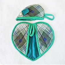 Úžitkový textil - SADA MYŠ+SRDCE 34 - 10283373_