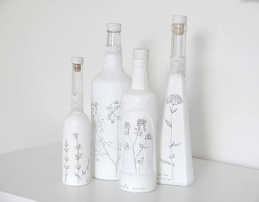 Fľaše Botanika