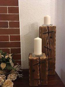 Svietidlá a sviečky - Svietniky - 10284830_