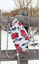 Detské tašky - Vak/Batoh pre malého hasiča a policajta - 10284230_