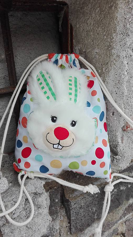 5e3765fce Vak/Batoh detský_ veselý zajko / LuJo - SAShE.sk - Handmade Detské tašky