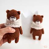 Hračky - medvedík Brumík - 10284668_