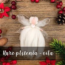 Kurzy - Kurz plstenia: Víla, anjel, bábika - 10285376_