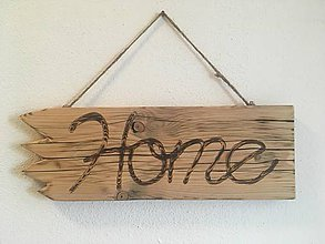 Dekorácie - Bytová dekorácia HOME / DOMOV - 10283239_