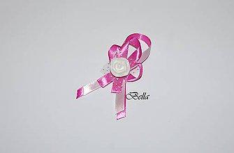 Pierka - Ružové svadobné pierko - 10284542_