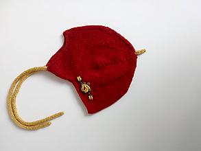 Detské čiapky - čiapka pre dievčatko - 10284174_