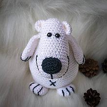 Hračky - Polárny medveď - 10285322_