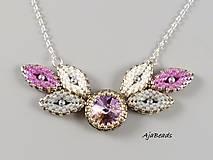 Návody a literatúra - Návod na výrobu náhrdelníku se Swarovski - 10285125_