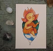 Grafika - Malý Budha - 10287122_