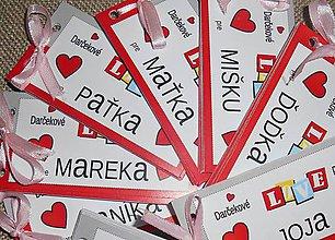 Darčekové poukážky - Love darčekové poukážky - 10287047_