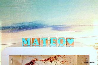 Hračky - Kocky Mateo - 10287010_