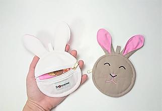 Peňaženky - Mincovnička zajko - 10287792_
