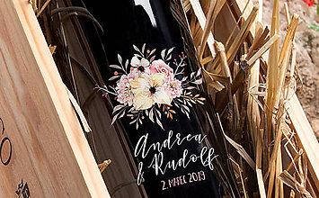 Darčeky pre svadobčanov - Svadobné etikety - Rustikálne - 10285630_