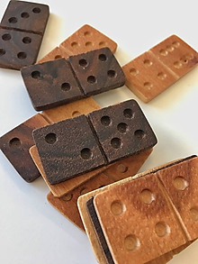 Hračky - domino Drevino klasik - 10287338_