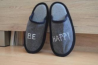 Obuv - Papuče- Be happy - 10285799_