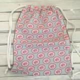 Batohy - romantický kvietkovaný batoh - 10287415_
