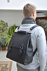 Batohy - Kožený ruksak PALI - 10286794_