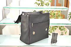 Batohy - Kožený ruksak PALI - 10286799_