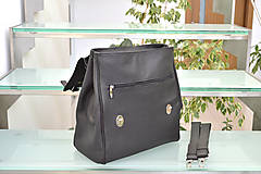 Batohy - Kožený ruksak PALI - 10286800_