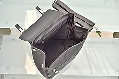 Batohy - Kožený ruksak PALI - 10286801_