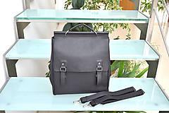 Batohy - Kožený ruksak PALI - 10286898_
