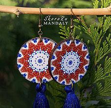 Náušnice - Mandala Iznik - 10286046_