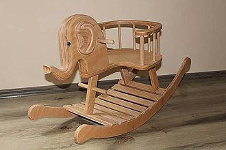 Hračky - Hojdací sloník - 10286019_