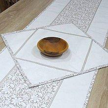 Úžitkový textil - JULIA - obrúsok štvorec - 10286033_
