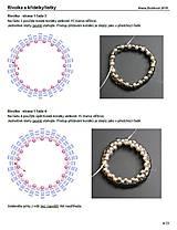 Návody a literatúra - Návod na výrobu náhrdelníku se Swarovski - 10286658_
