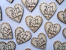 Darčeky pre svadobčanov - Svadobné magnetky - 10286014_