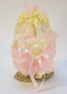 Dekorácie - Vajíčko s pierkami - 10288316_