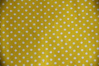 Úžitkový textil - Sťahovacie vrecúško (Žltá) - 10286124_