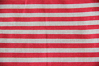 Úžitkový textil - Sťahovacie vrecúško (Červená) - 10286125_